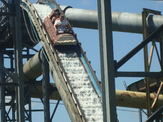 Upper Clements Parks: The Flume Water Ride