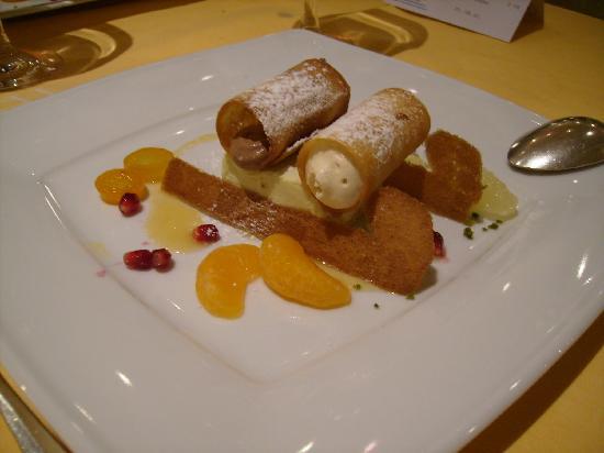 Parkhotel Tristachersee: Restaurant Dessert