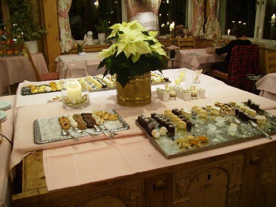 Parkhotel Tristachersee: Restaurant Chocolates
