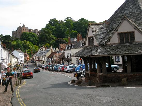 Spears Cross: Dunster village