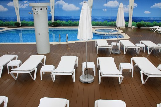 Riviera Beachotel: PISCINA/SWIMMING POOL