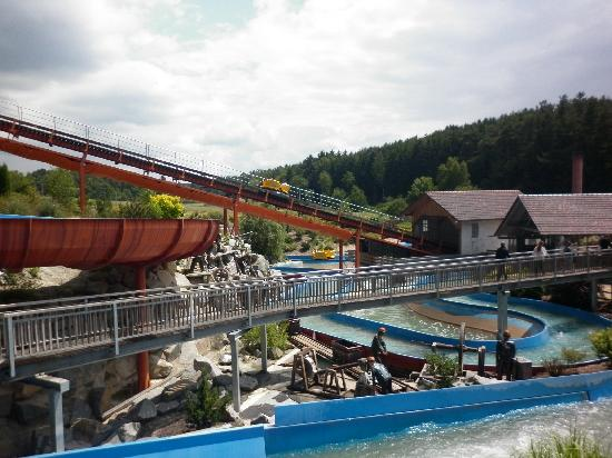 Bayern-Park: rafting