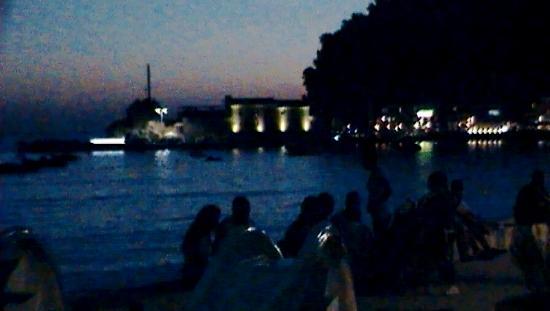 Hotel Palas: Night view