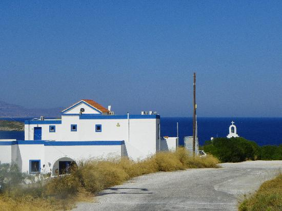 Faros Resort: Approaching the hotel