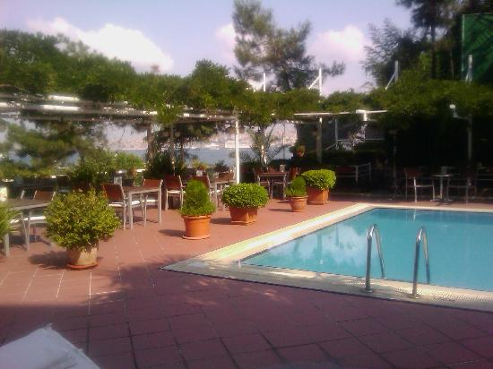 Harem Hotel: Great views from the swimmingpool