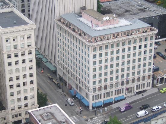 The Arctic Club Seattle - a DoubleTree by Hilton Hotel: from smith tower