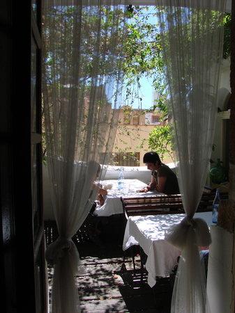DEGVSTA restaurant: the terrace
