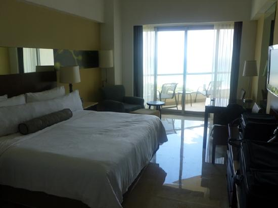 Oceanview oceanfront rooms both have great views very similar layout and size picture of for How many rooms at live aqua cancun