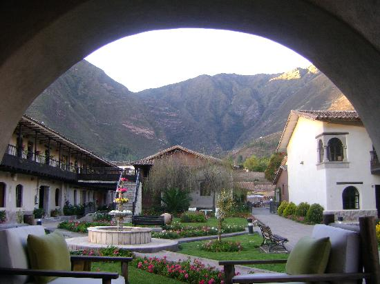 Sonesta Posadas del Inca Yucay: uno de los patios del hotel