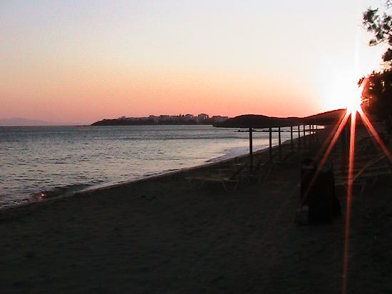 Golden Beach Hotel Beach at Sunset