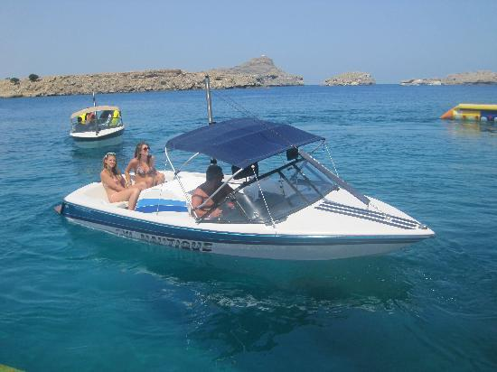 Lindos Mare Hotel: our taxi to Lindos !