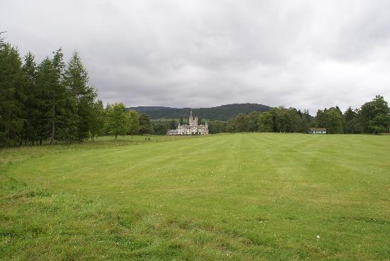 Balmoral Castle: cricket anyone?