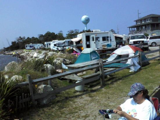 Rodanthe Watersports and Campground: Camp Site number 2