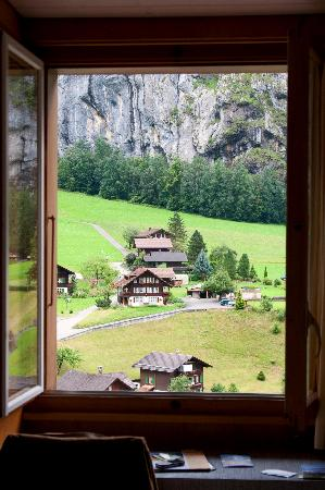 Hotel Staubbach: Room with a view