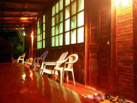 Jinetes de Osa Hotel: balcony at Jinetes