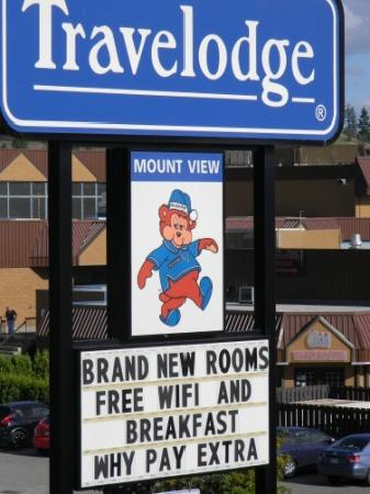 Kamloops Travelodge Mountview: New rooms - NOT