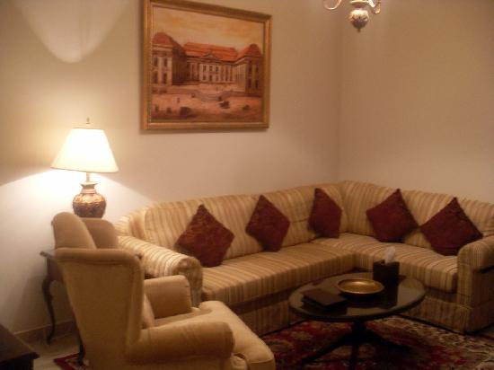 Gloria Hotel: Sitting room area of your room/suit