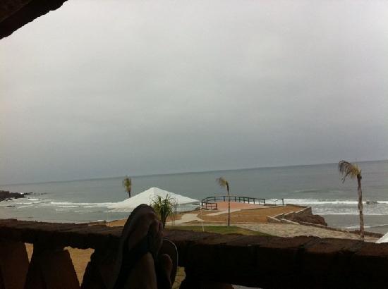 Hotel Boutique Castillos del Mar: Vista del cuarto al mar
