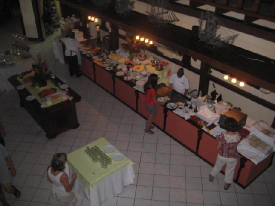 Parador Resort and Spa: Part of the Buffet Breakfast Room