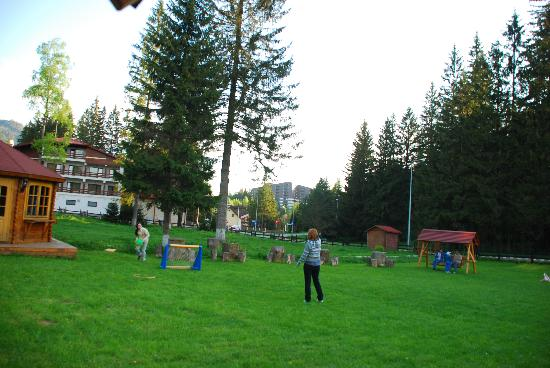 Hotel Ruia: The hotel garden