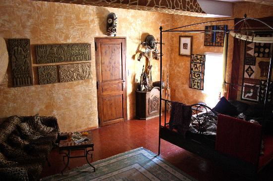 La Cigale en Provence: African room