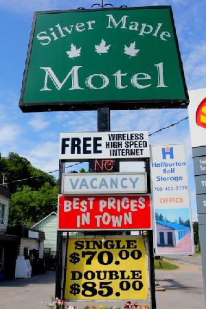 Silver Maple Motel: rates are great