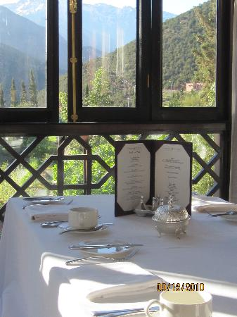 Kasbah Tamadot: View from the dining room