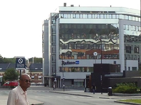 Radisson Blu Hotel Nydalen, Oslo: Frony View of the Hotel