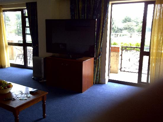 "Hopton on Sea, UK: 61"" Television great view"