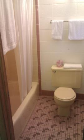 Indian Trail Motel: Nice clean bathrooms too....