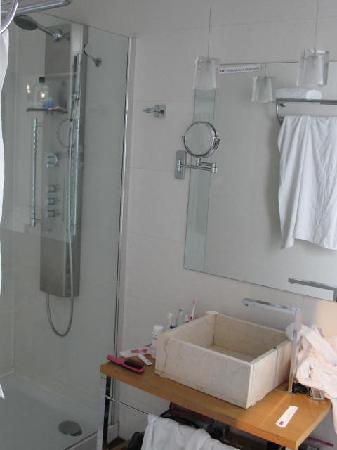 เพทิท พาเลซ โพซาดา เดล ไพเน โฮเต็ล: bathroom in our room