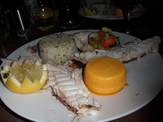 Restaurant Le Rivoli: Denti fish main course