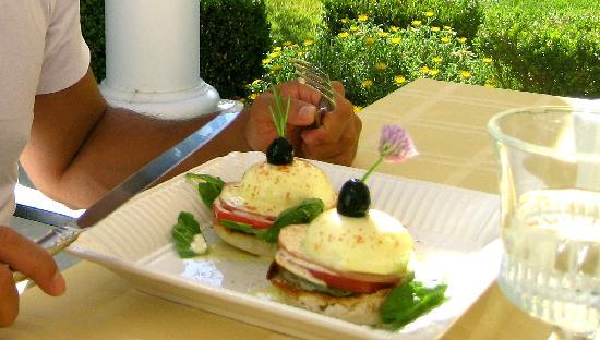 Winemaker's Porch Bed & Breakfast: Amazing breakfast!