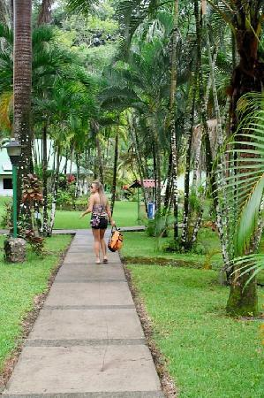 Villas Rio Mar: Walkways from Villa