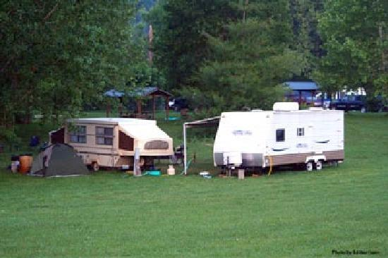 Mountain Creek Campground: Rv Parking
