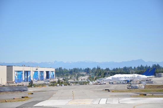 Future of Flight Aviation Center & Boeing Tour: View from the lookout tower