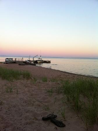 La Pointe, WI: Madeline Island Sunset