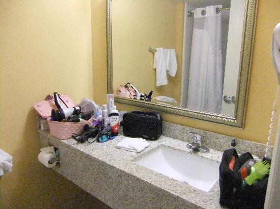 Holiday Inn Express and Suites Oceanfront: BathRoom
