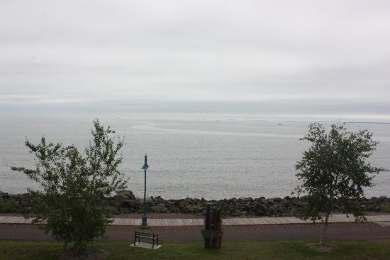 The Inn on Lake Superior: View straight out from the room balcony