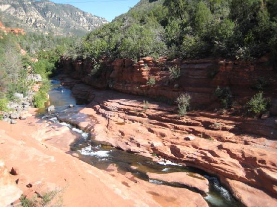 Slide Rock State Park: magnificent formations