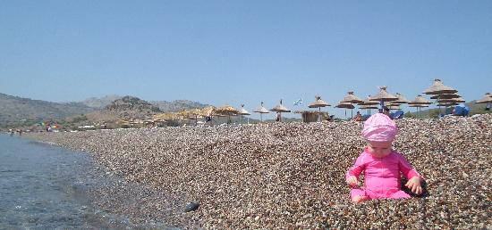 Atrium Palace Thalasso Spa Resort & Villas : beach is lonely