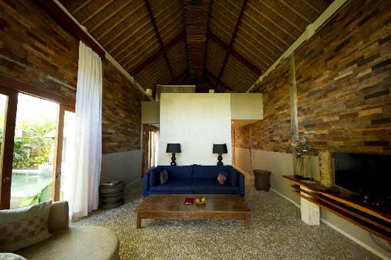 The Purist Villas and Spa: Hill Villa - Living Room