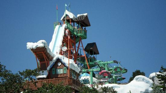 Disney S Blizzard Beach Water Park The Slide Summitt Plumitt
