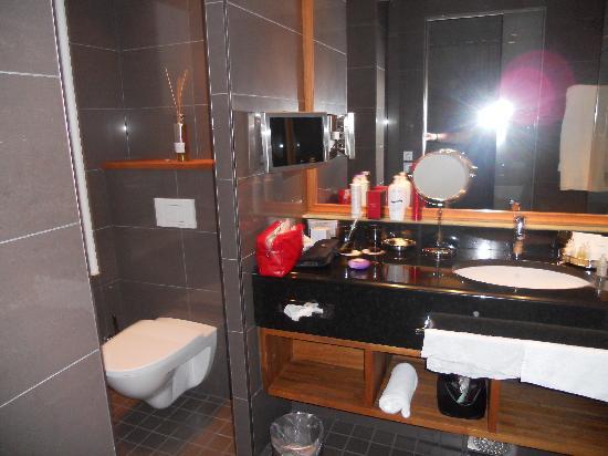 Hotel Haven: Bathroom in room 601
