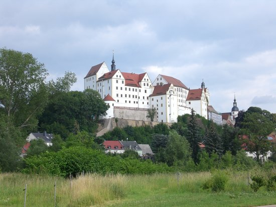 Colditz, Germany: By the river