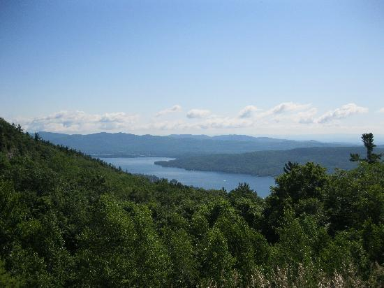 Prospect Mountain: View at the Summit.