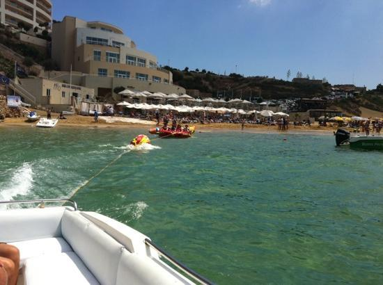 Radisson Blu Resort & Spa, Malta Golden Sands : watersports and fun rides