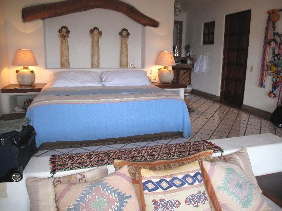 Casa Cuitlateca: our room, the Puebla