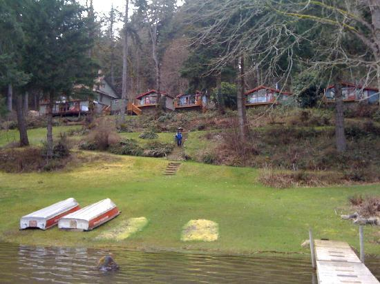 Maple Ridge Cottages: Such a peaceful Place.