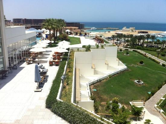 Hilton Hurghada Plaza: view from Eastern part